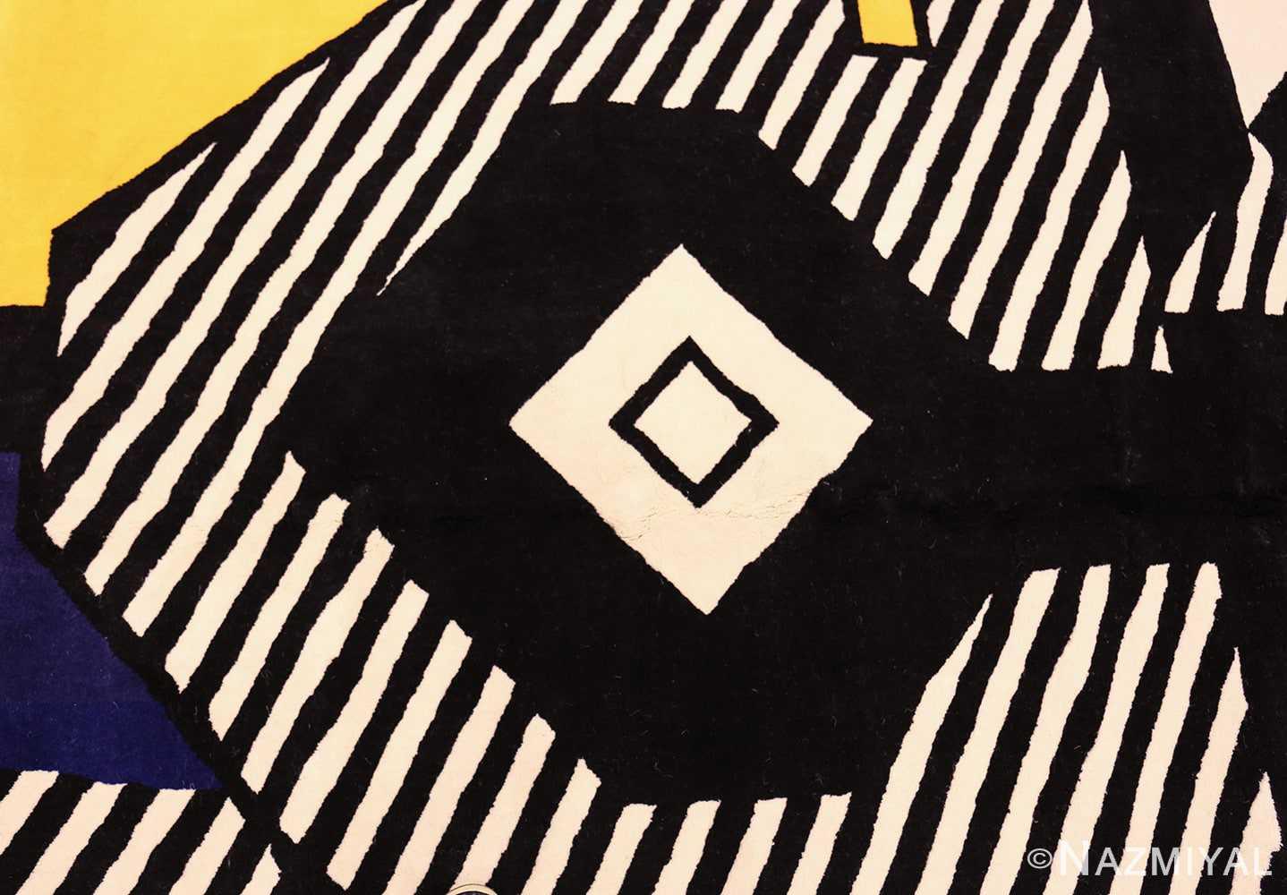 pop art rug by roy lichtenstein 47406 black Nazmiyal