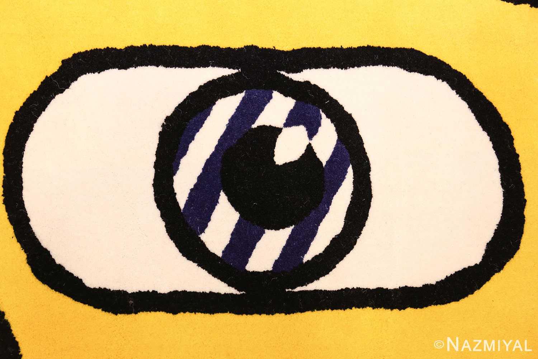 pop art rug by roy lichtenstein 47406 eye Nazmiyal