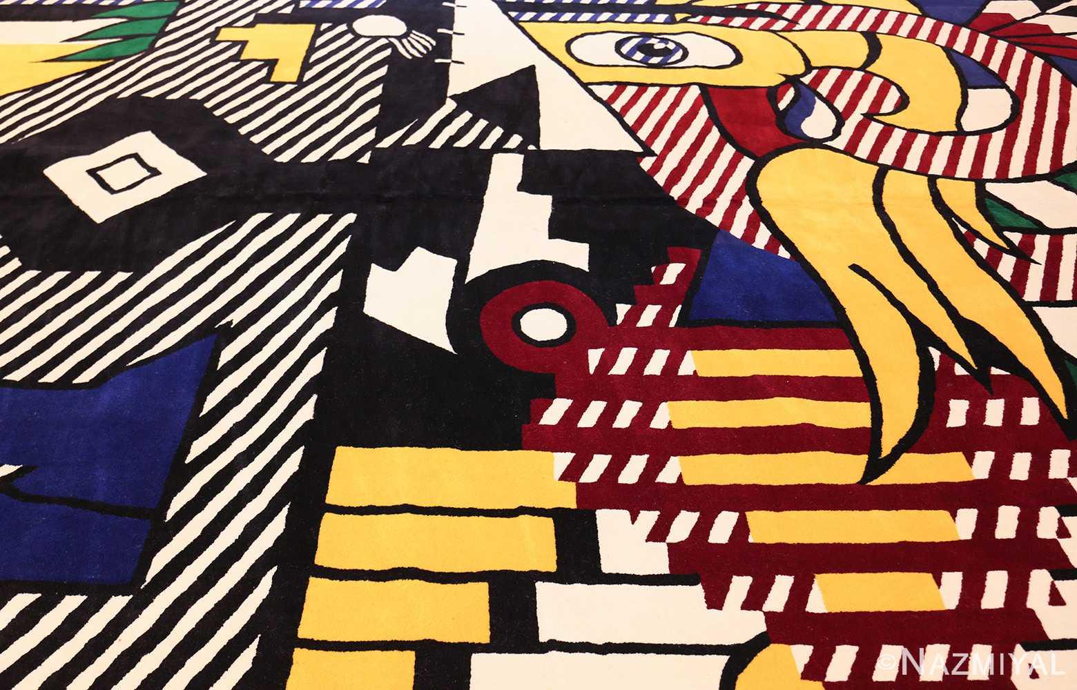 pop art rug by roy lichtenstein 47406 field Nazmiyal