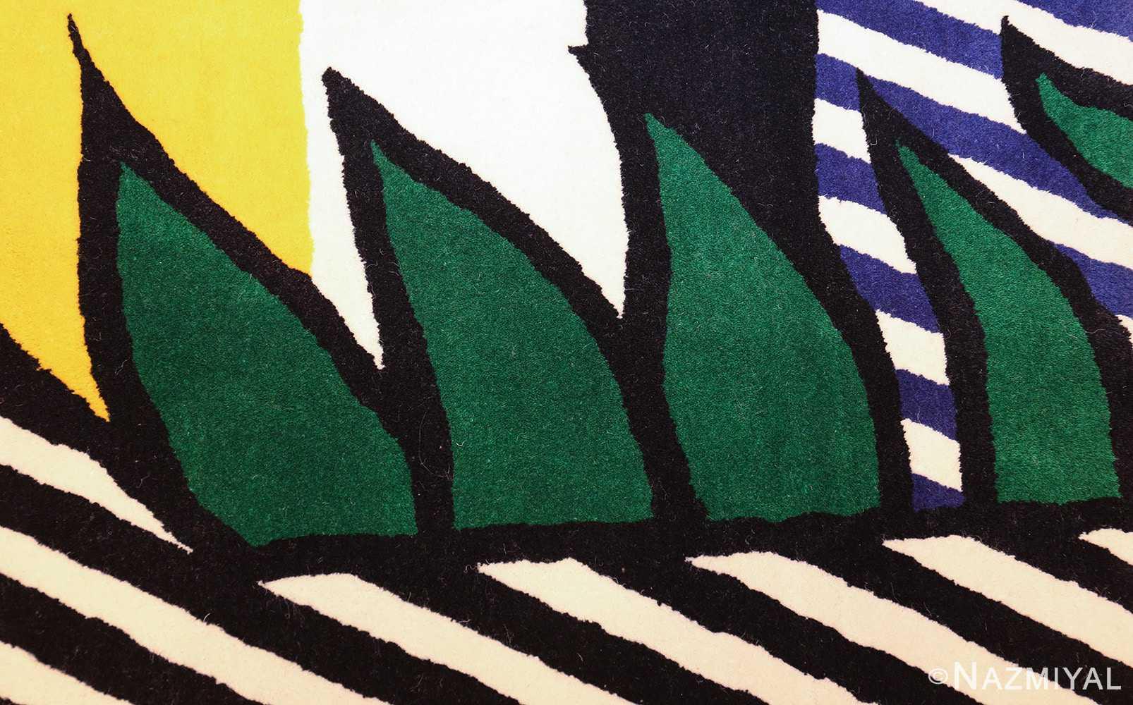 pop art rug by roy lichtenstein 47406 grass Nazmiyal