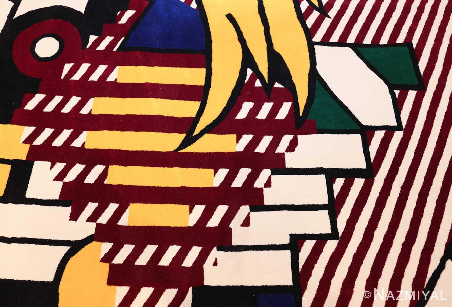 pop art rug by roy lichtenstein 47406 hair Nazmiyal