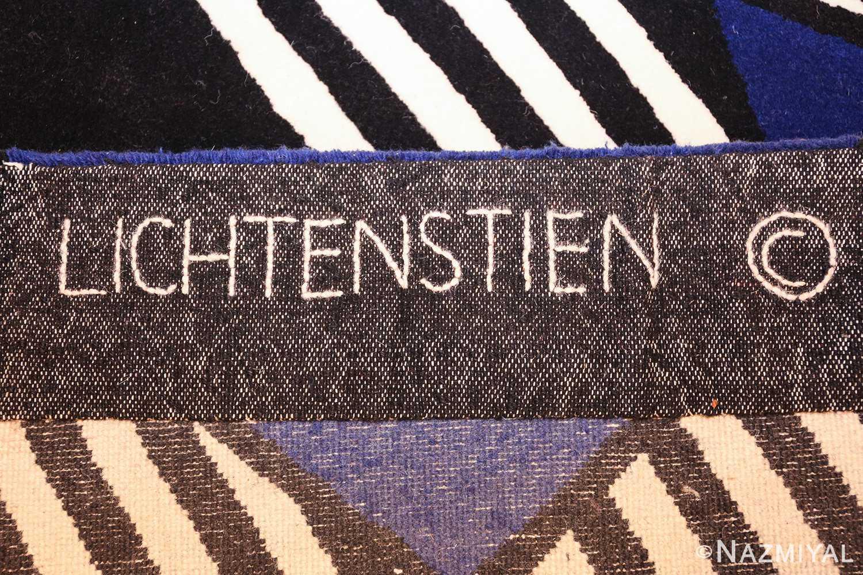 pop art rug by roy lichtenstein 47406 pile Nazmiyal