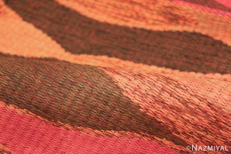 Vintage Swedish Double Sided Rug 47387 Pile Colors Nazmiyal