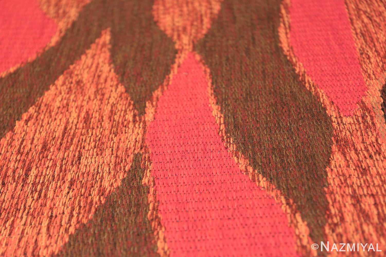 Vintage Swedish Double Sided Rug 47387 Texture Nazmiyal