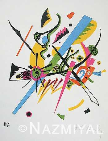Bauhaus Rug Inspiration From Small Worlds by Wassily Kandinsky Nazmiyal