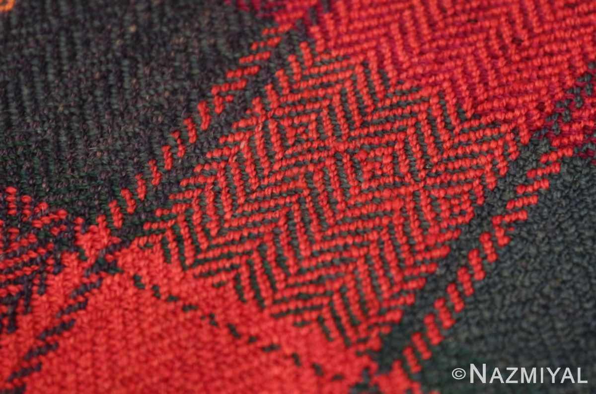 Weave detail Antique Persian Mazandaran Kilim 47351 by Nazmiyal