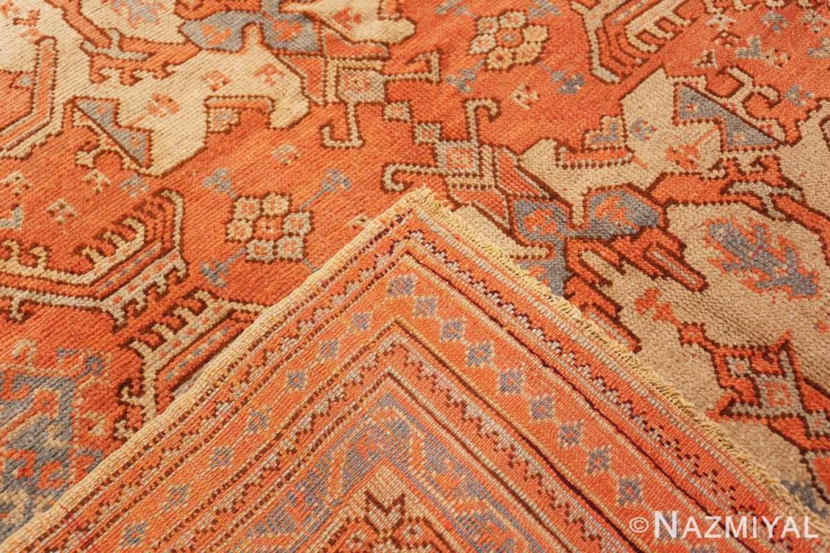 Weave Large Antique Turkish Oushak rug 47426 by Nazmiyal