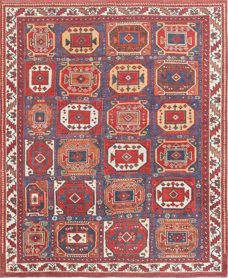 Antique Tribal Persian Afshar Rug 47543 Large Image
