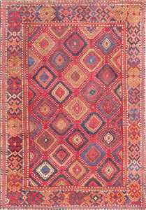 Antique Turkish Yuruk Carpet 47447 Detail/Large View