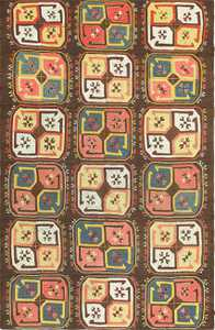 Antique Uzbekistan Embroidery 47484 Detail/Large View