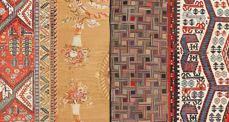 Different Rug Types by Nazmiyal