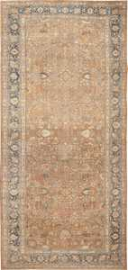 Large Oversize Antique Persian Khorassan Carpet 47032 Nazmiyal