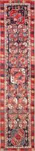Rare Antique Tribal North West Persian Bokara Design Runner 47460 Large Image