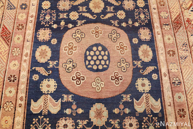 antique khotan rug 47498 circles Nazmiyal