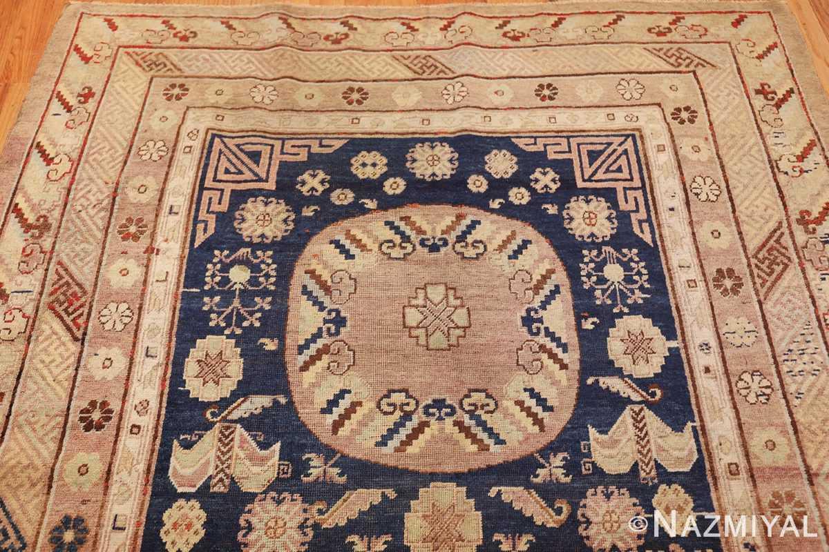 antique khotan rug 47498 top Nazmiyal