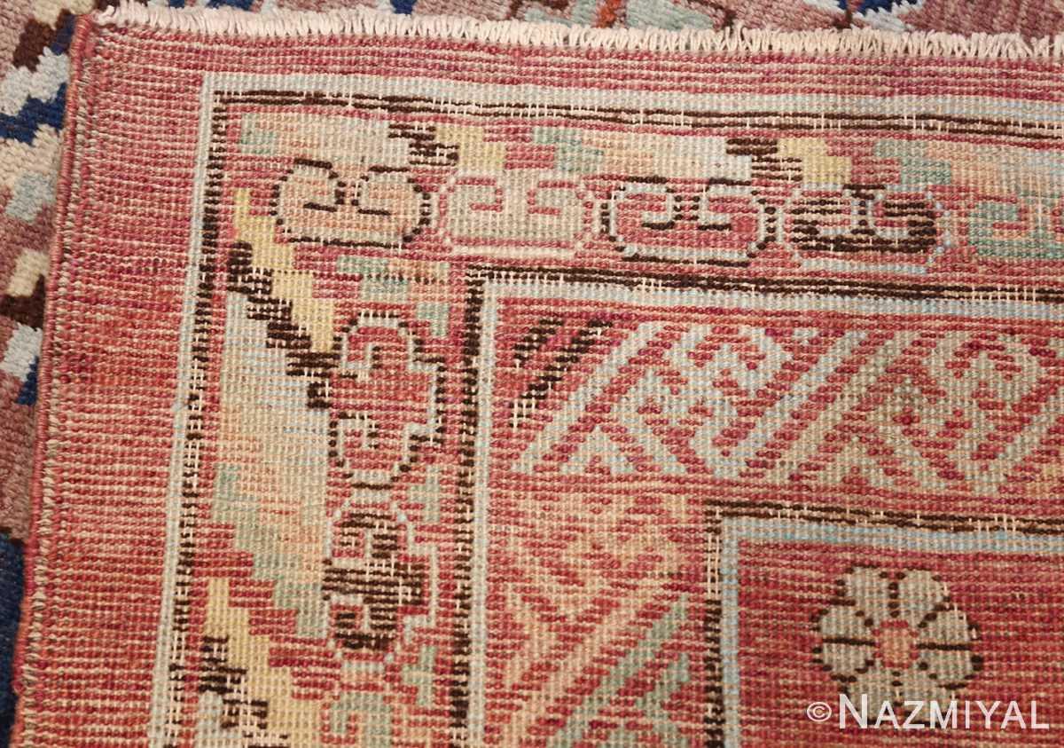 antique khotan rug 47498 weave Nazmiyal