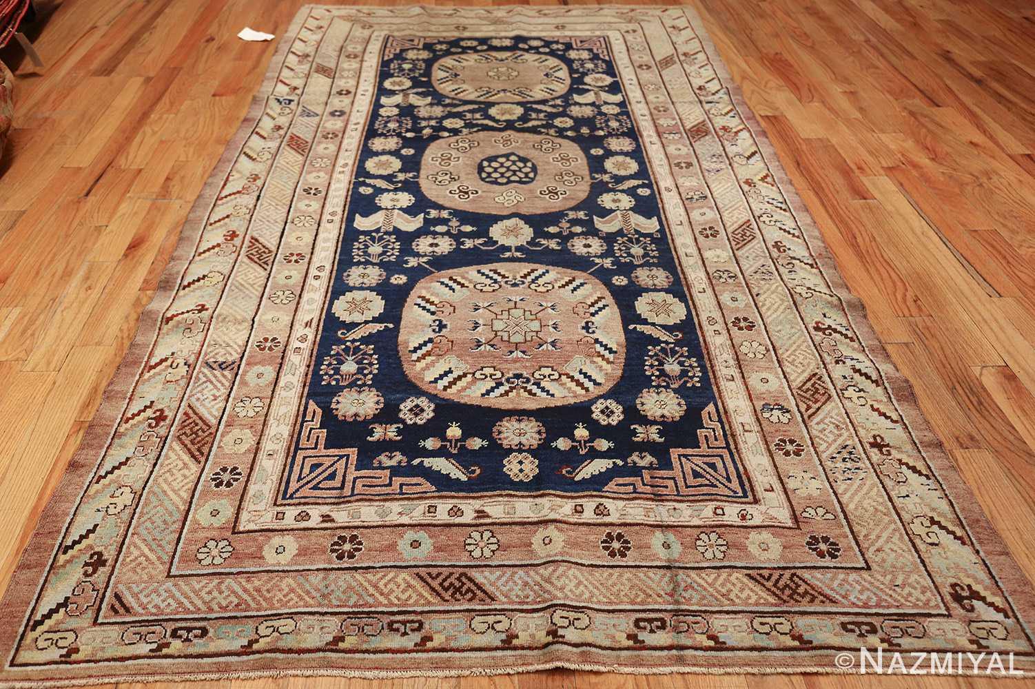 antique khotan rug 47498 whole Nazmiyal