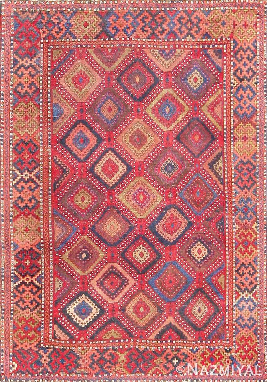 Antique Turkish Yuruk Carpet 47447 Detail/Large View