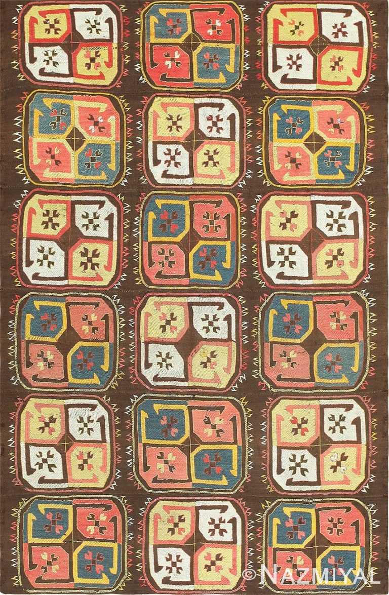 Antique Uzbekistan Embroidery 47484 Detail/Large View