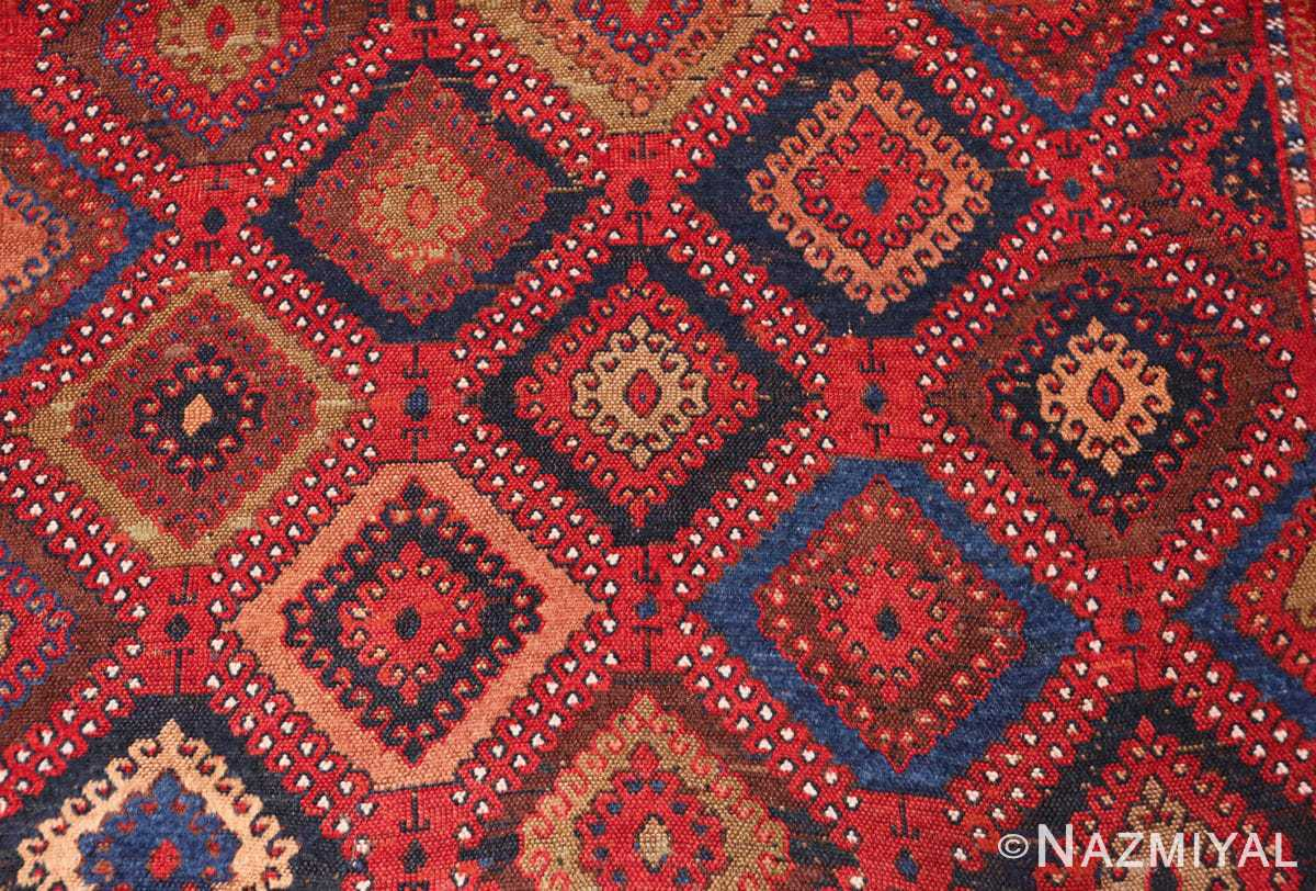 Background Antique Turkish Yuruk Carpet 47447 by Nazmiyal