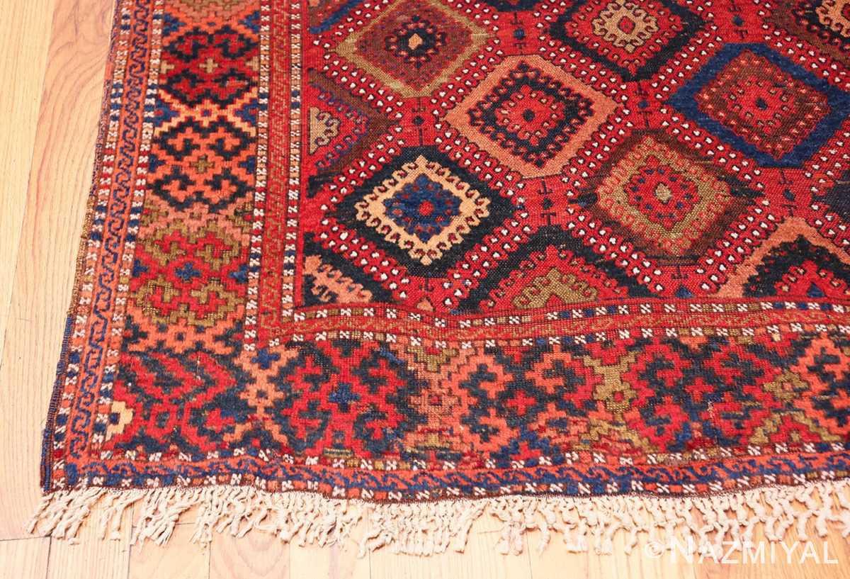 Corner Antique Turkish Yuruk Carpet 47447 by Nazmiyal