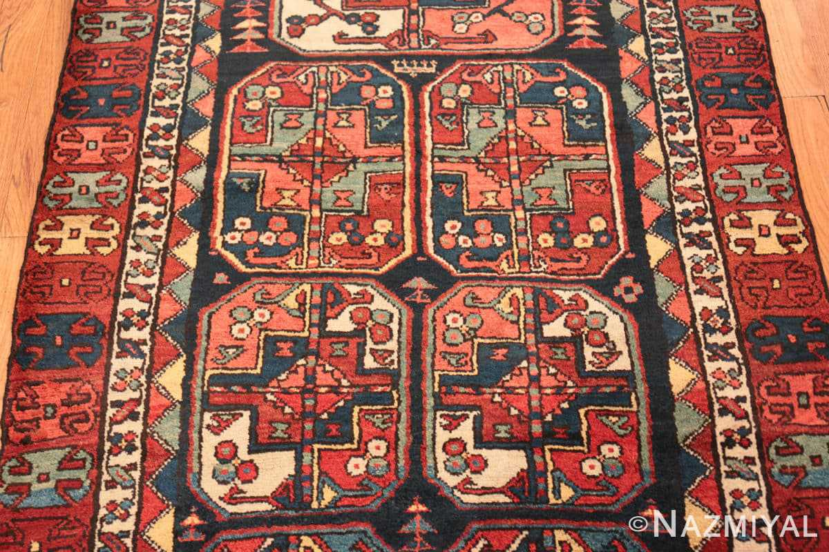 Field Antique Tribal Kurdish runner rug 47460 by Nazmiyal