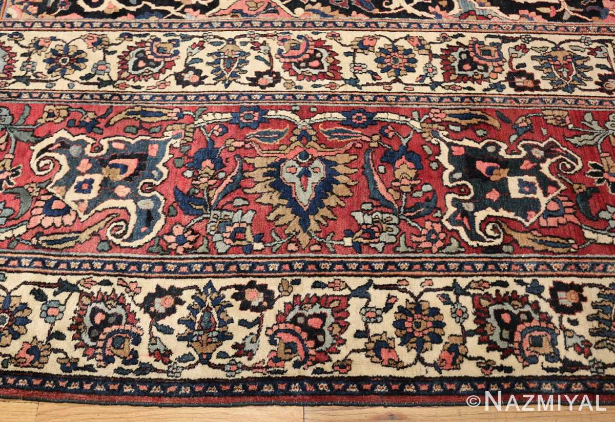 fine antique persian khorassan oversized mashad rug 47521 border Nazmiyal