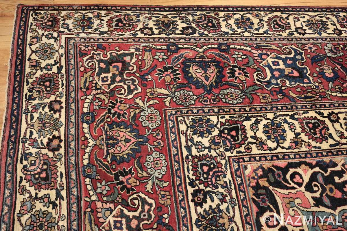 fine antique persian khorassan oversized mashad rug 47521 corner Nazmiyal