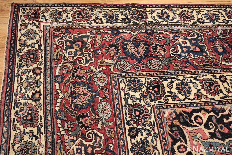 fine antique persian khorassan oversized mashad rug 47521 corner Nazmiyal