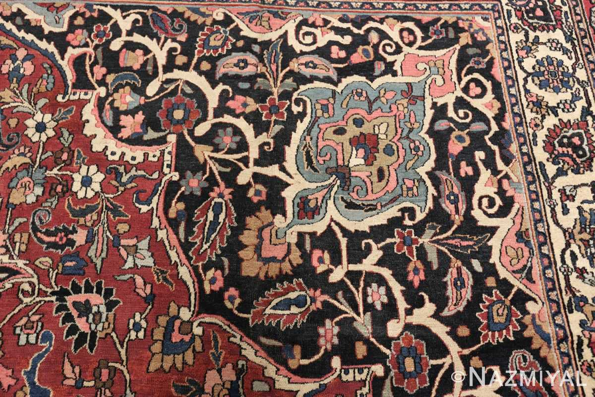 fine antique persian khorassan oversized mashad rug 47521 design Nazmiyal