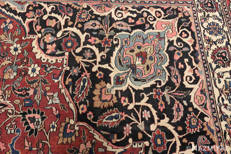 fine antique persian khorassan oversized mashad rug 47521 design Nazmiyal