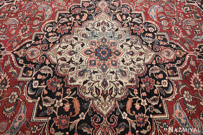 fine antique persian khorassan oversized mashad rug 47521 medallion Nazmiyal