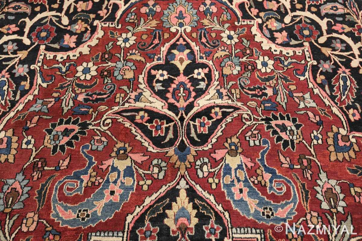 fine antique persian khorassan oversized mashad rug 47521 top Nazmiyal