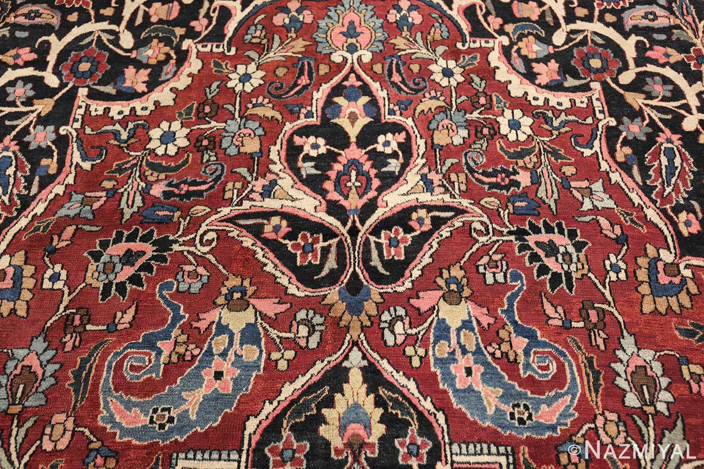 fine antique persian khorassan oversized mashad rug 47521 top Nazmiyal
