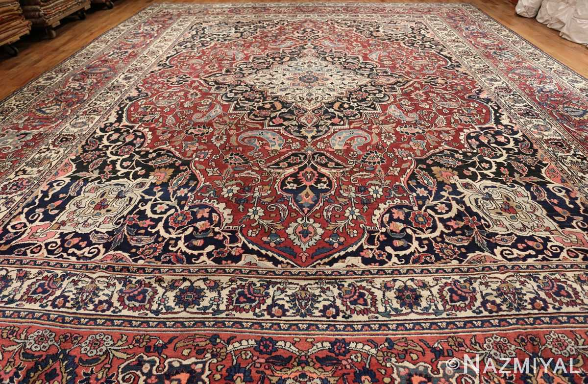 fine antique persian khorassan oversized mashad rug 47521 whole Nazmiyal