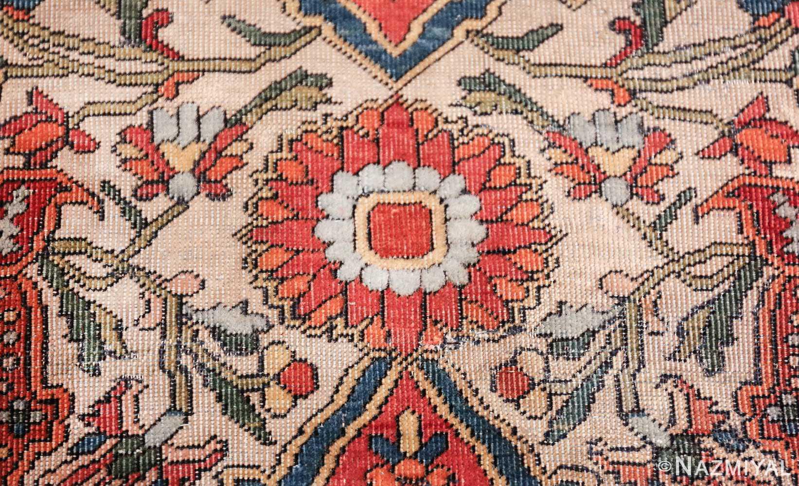 fine antique persian mohtashem kashan carpet 47197 blue Nazmiyal