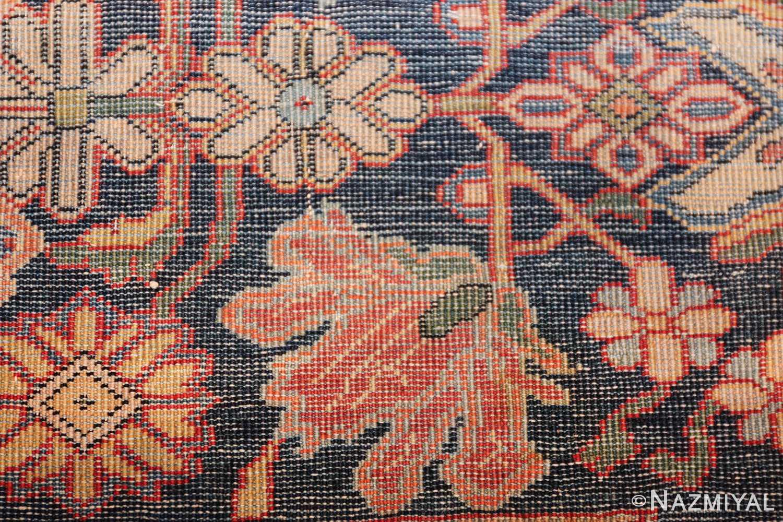 fine antique persian mohtashem kashan carpet 47197 knots Nazmiyal