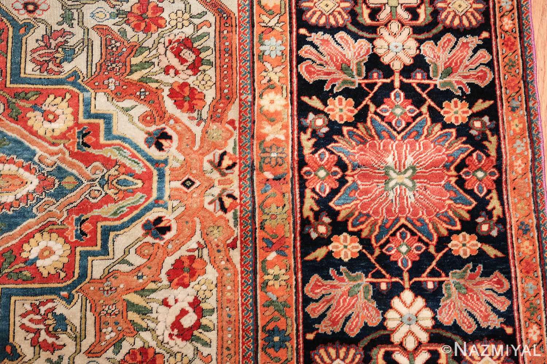 fine antique persian mohtashem kashan carpet 47197 part Nazmiyal