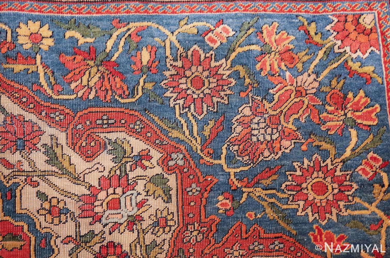 fine antique persian mohtashem kashan carpet 47197 pattern Nazmiyal