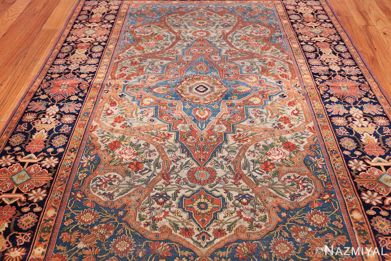 fine antique persian mohtashem kashan carpet 47197 total Nazmiyal