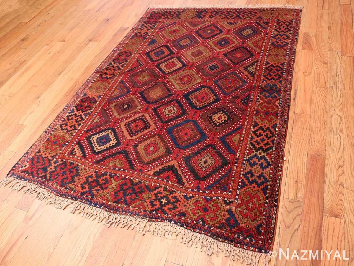 Full Antique Turkish Yuruk Carpet 47447 by Nazmiyal