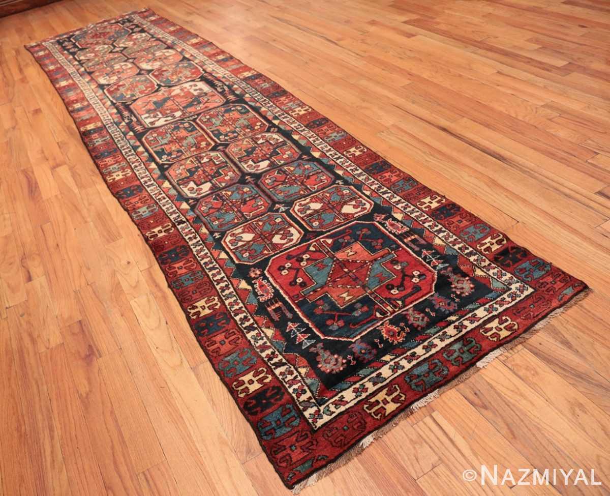 Full Antique Tribal Kurdish runner rug 47460 by Nazmiyal