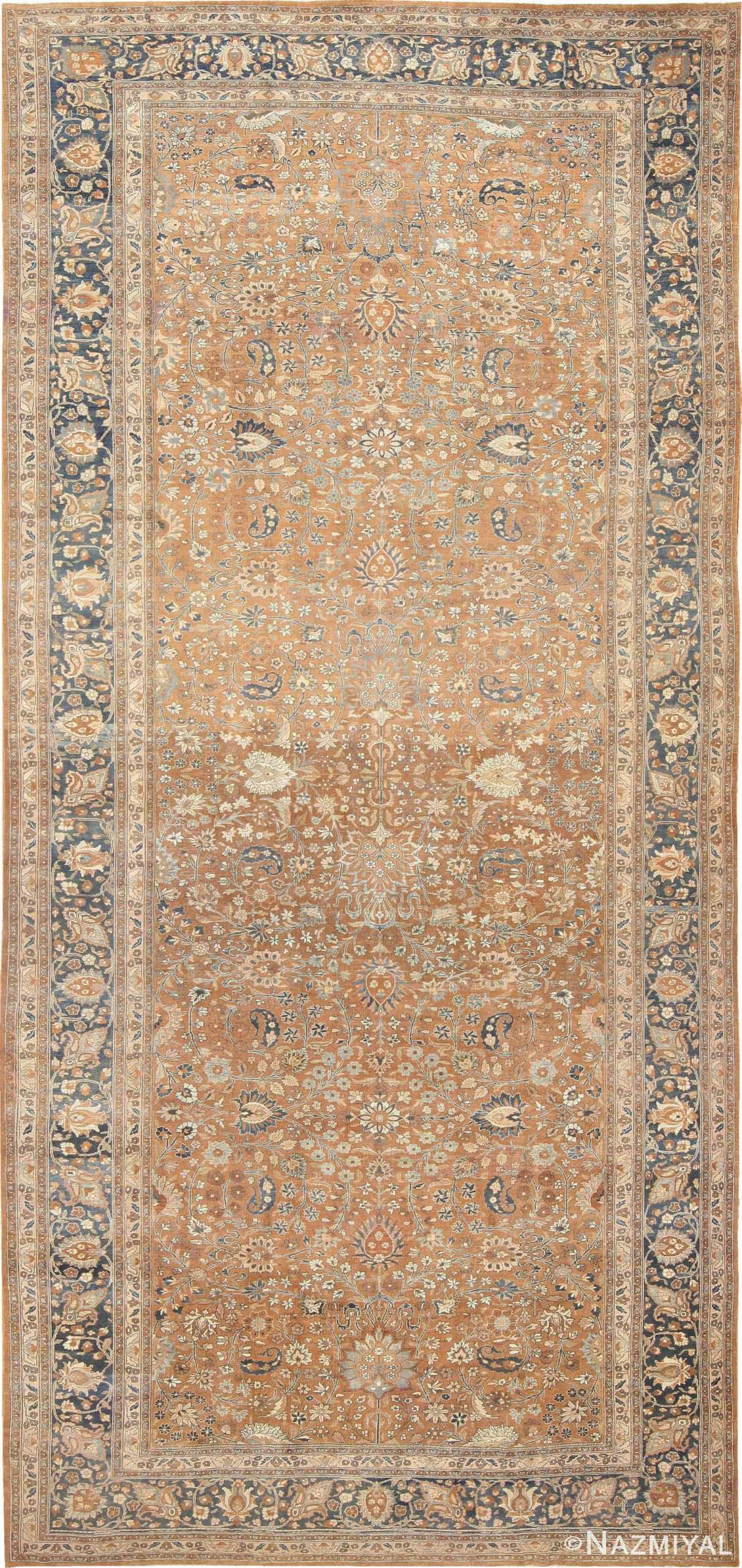 Large Oversize Antique Persian Khorassan Carpet 47032 Nazmiyal