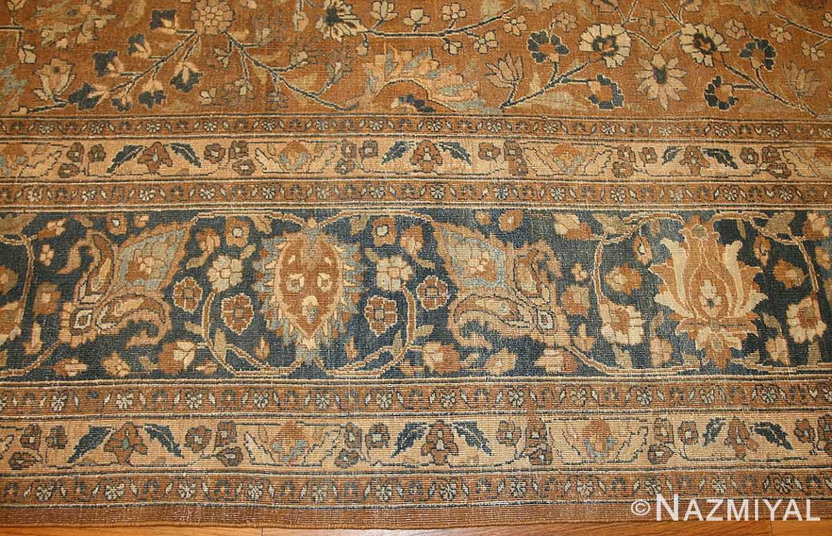 large oversize antique persian khorassan mashad carpet 47032 border Nazmiyal