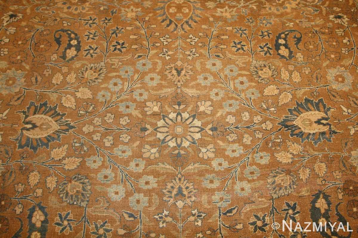large oversize antique persian khorassan mashad carpet 47032 field Nazmiyal