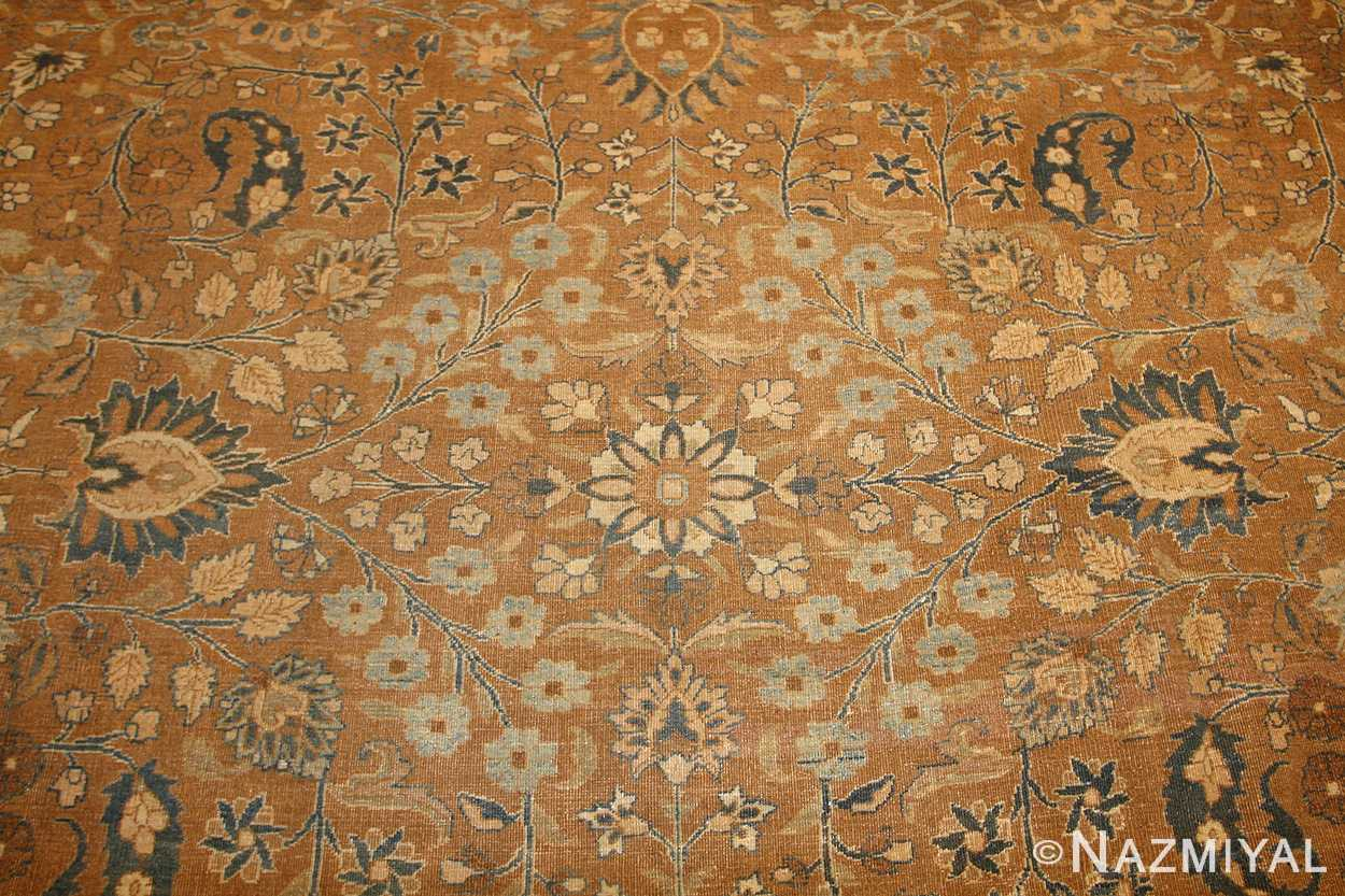 large oversize antique persian khorassan mashad carpet 47032 field Nazmiyal