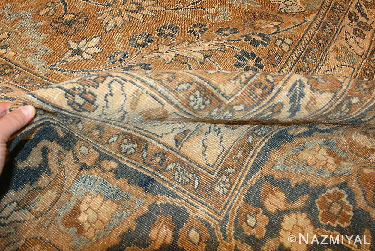 large oversize antique persian khorassan mashad carpet 47032 pile Nazmiyal