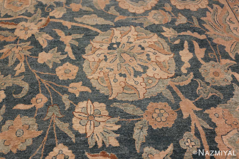 Large Oversized Blue Oriental Antique Persian Kerman Carpet 44142 Dandelion Nazmiyal