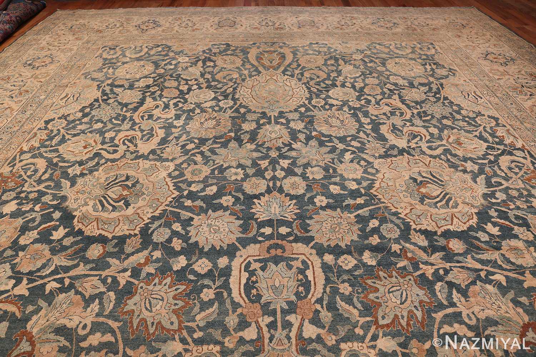 Large Oversized Blue Oriental Antique Persian Kerman Carpet 44142 Top Design Nazmiyal