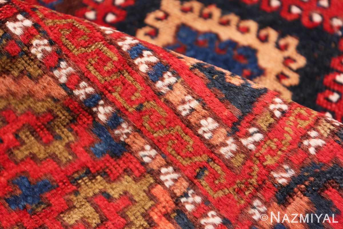 Pile Antique Turkish Yuruk Carpet 47447 by Nazmiyal